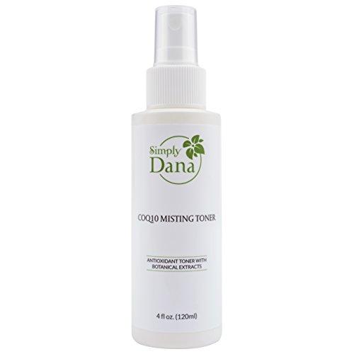 - Simply Dana CoQ10 Misting Toner Antioxidant Toner with Botanical Extracts 4 fl. oz. (120ml)