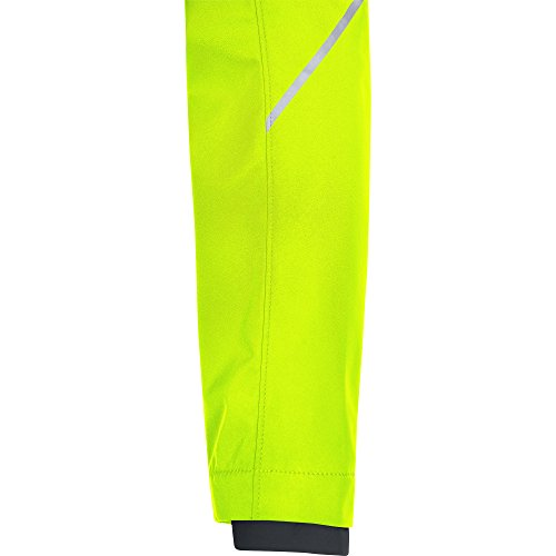 GORE WEAR Women's R3 Partial Windstopper Jacket, Neon Yellow, Small by GORE WEAR (Image #6)