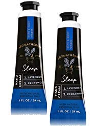 Bath and Body Works 2 Pack Aromatherapy Sleep Lavender & Ced