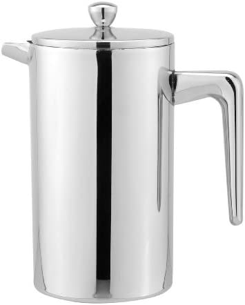 Cuisinox Double Walled French Press, 1.0-Litre, Stainless Steel