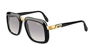 Cazal 616 001SG Black Gray Gradient Vintage Sunglasses 56 mm