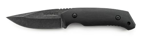 Schrade-SCHF13-Full-Tang-Drop-Point-Fixed-Blade-G-10-Handle