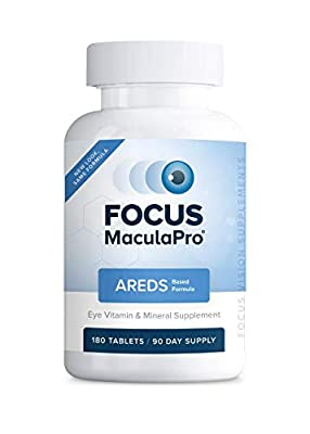 Focus MaculaPro - AREDS Eye Vitamin-Mineral Supplement, 180 ct (90 Day)