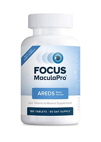 Focus MaculaPro – AREDS Eye Vitamin-Mineral Supplement, 180 ct 90 Day