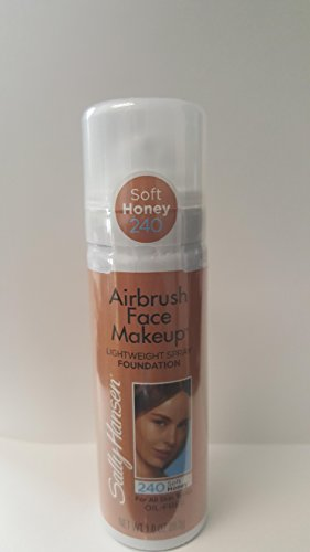 Sally Hansen Airbrush Face Makeup Lightweight Foundation #240 Soft Honey