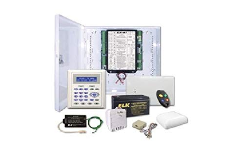 Elk M1GSYS4STW M1GSYS4S Kit w/Wireless Receiver and ELK-6010 Keychain Remote Home Automation & Security ()