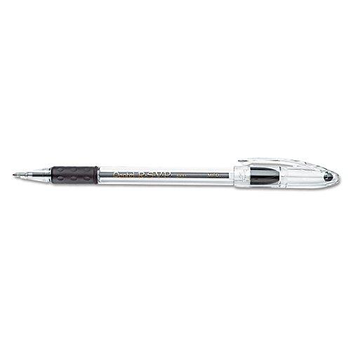 (Pentel (BK91-A) R.S.V.P. Ballpoint Stick Pen, Black Ink, Medium, Dozen)