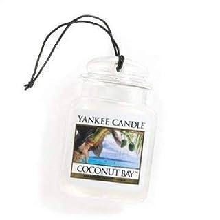 Yankee Candle Gel Car Jar Ultimate Hanging Odor Neutralizing Air Freshener Coconut Bay Scent