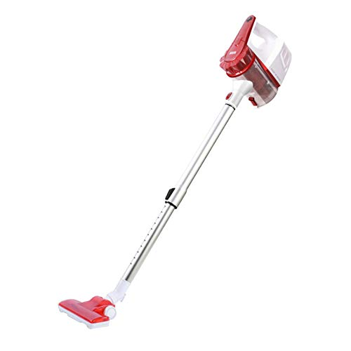 (Vacuum cleaner household push rod handheld ultra-quiet powerful high-power carpet small electric sweeper 0.7L dust box capacity effortless and light Suitable for household cleaning various places)