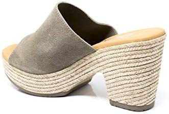 Sandalia Zueco de tacón con Piso Gel para Mujer - Oh my Sandals 4699