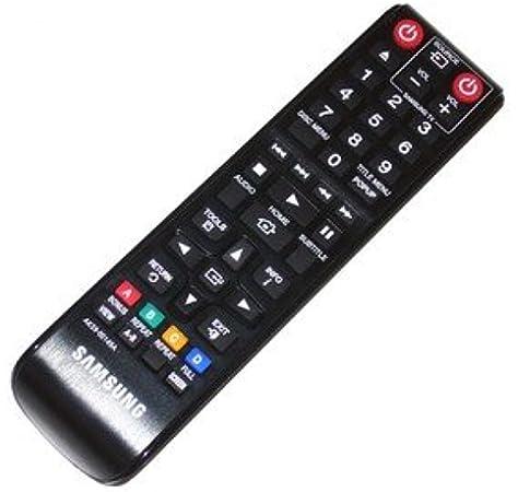 Mando a distancia Samsung para BluRay y reproductor de DVD: Amazon ...