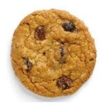 Otis Spunkmeyer Value Zone Oatmeal Raisin Cookie Dough, 1 Ounce -- 384 per case.