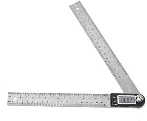 CHENBIN-BB ステンレス鋼の電子ルーラー・スケール角度キャリパーデジタルディスプレイ200MMアイ・プライヤーツール