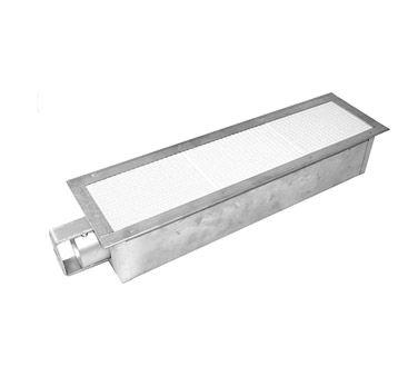 Allpoints 26-3692 Silver Infrared Salamander Burner-26-3692