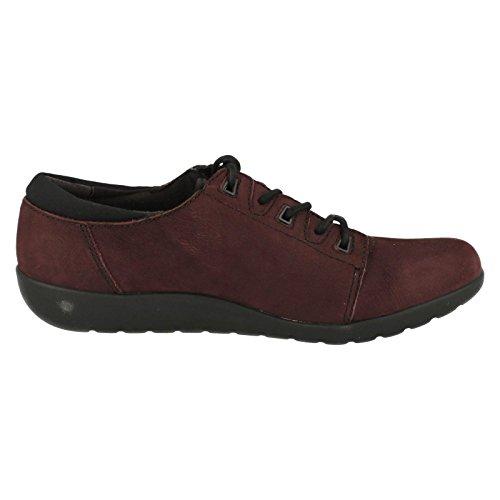 Womens 6 Clarks 0 Medora Aubergine CLARKS Bella D Shoe 1a5YnBBWx