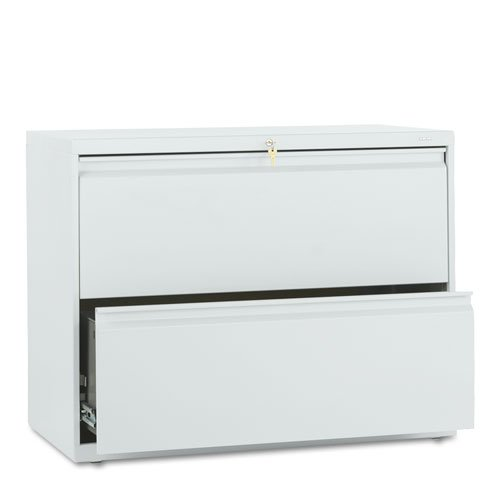- Hon Company 800 Series 36amp;quot;amp;quot; Wide 2-Drawer Lateral File, Light Gray (882Lq)