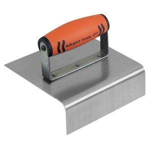 6''x6'' 1''R Outside Curb & Sidewalk Tool w/ProFormSoft Grip Handle
