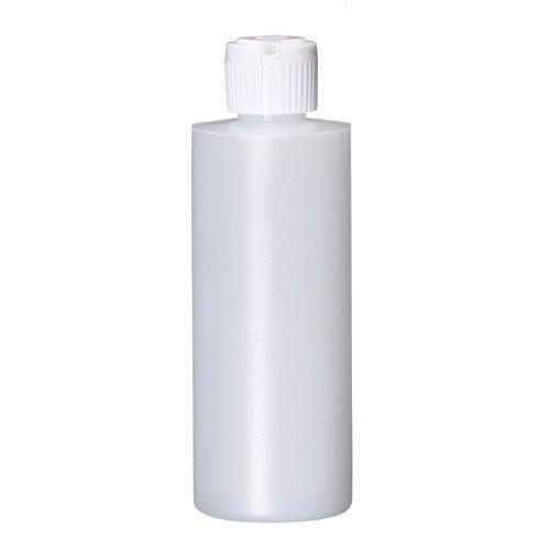 Bargz Empty Plastic Bottles - Refillable Cylinder Multi Purpose Plastic Bottles - Bulk - 4 oz Pack of 12