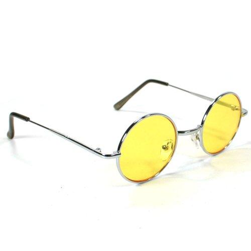 Round Teashade Lennon Women's Sunglasses 8009 - Glasses Teashade