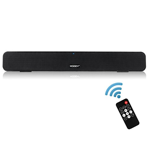 Xgody G807 TV Soundbar with Remote Control 10W  Bluetooth 2.