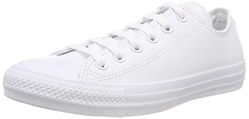 Chuck Converse Blanc All Taylor 3 Ox Mono Leather Star Adulte Zapatillas Unisex 6dvdwqr