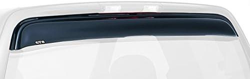 Aerowing Rear Window Deflector GT Styling 56305 Aerowing Rear Window Deflector Smoke 1 pc