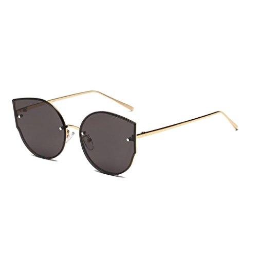 Ojo sol Marca Estilo Gato Colores Las Retro Espejo Clásico con Gafas de Gris Mujeres VENMO q1HwTx
