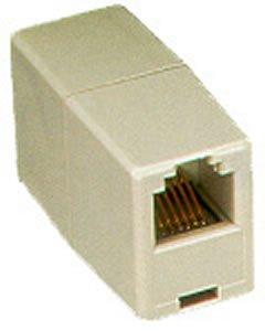 Modular Coupler, Voice 6P6C, Pin 1-6 - Voice Modular Coupler