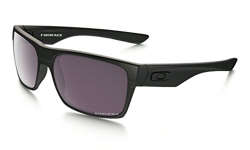 Oakley Twoface Covert Sunglasses Matte Black with PRizm Daily Polarized Lens (Oakley Two Face)