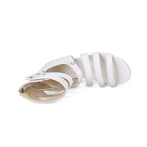 Blanc Balamasa Ouvert Eu Femme Blanc Asl05089 5 36 Bout XarFUX