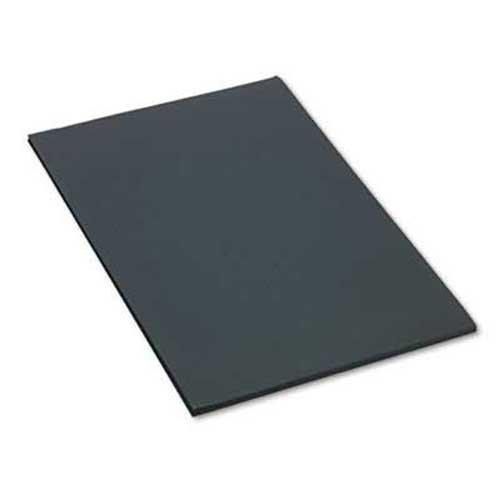 SunWorks Construction Paper, 58 lbs, 24 x 36, Black, 50 Sheets/Pack