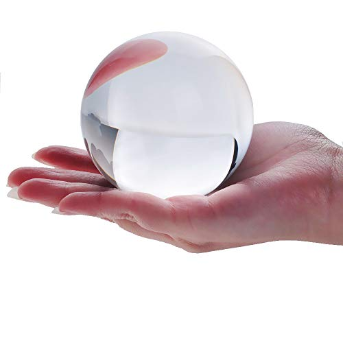 "DSJUGGLING Clear Acrylic Contact Juggling Ball 4"" - for sale  Delivered anywhere in USA"