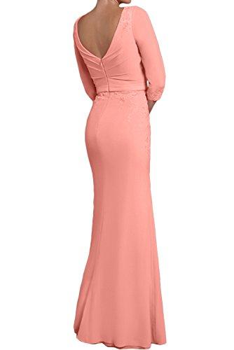 2 Topkleider Mes Mujer Vestido para Rosa IIU7Rq