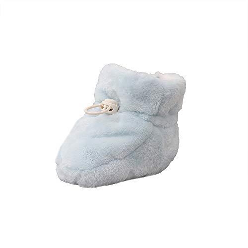iFOMO Winter 3-6,6-10 Months Baby Boys Girls Indoor Flannel Shoes Baby Fleece Booties (Beige,Age:3-10Months)