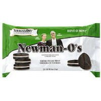 Organic Mint Creme Cookie O's 8 Ounces (Case of 6)
