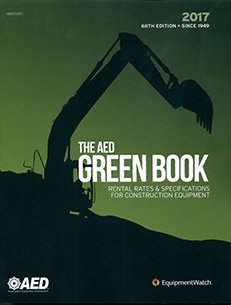 The AED Green Book 2017: Rental Rates & Specifications for Construction Equipment