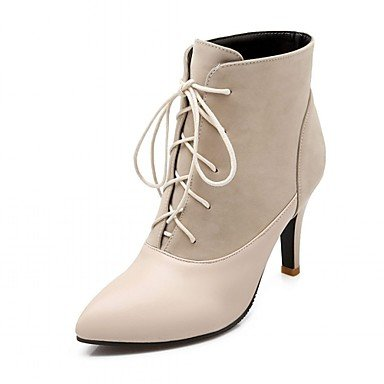 RTRY Women'S Boots Spring Fall Winter Comfort Novelty Patent Leather Leatherette Wedding Office &Amp; Career Dress Casual Party &Amp; Eveningstiletto US10.5 / EU42 / UK8.5 / CN43 UkJvl4lC
