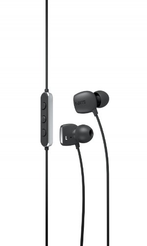 JAYS T00079 Four High Fidelity Earphones with 3-Button Remote for iPhone 4 - Retail Packaging - Black (T Jays Three)