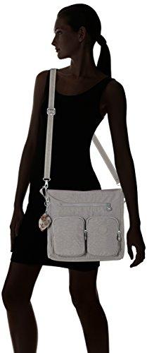 Kipling Tasmo - Shoppers y bolsos de hombro Mujer Gris (Urban Grey C)