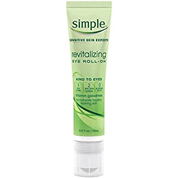 Simple Eye Roll On, Revitalizing 0.5 oz