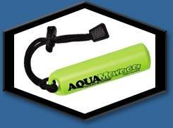 Scuba Sonics - Aqua Maraca Underwater Signaling device - Black/Silver (Maraca Sports)
