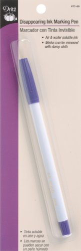 Dritz 677-60 Disappearing Ink Marking Pen, Purple ()