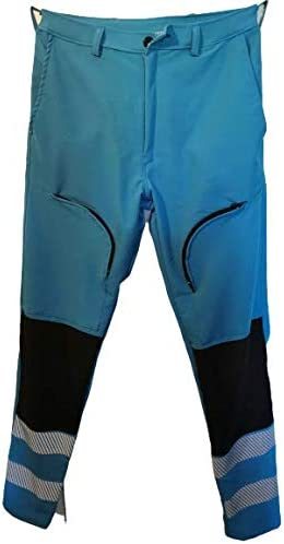 trevolstore Pantalone Slim Fit Ciano misericordie