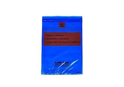 Elkay Plastics Labz69bl Lab Loc Specimen Bags With Removable
