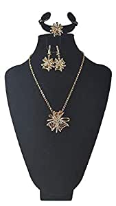 Miss Trendy Elegant Gold plated set