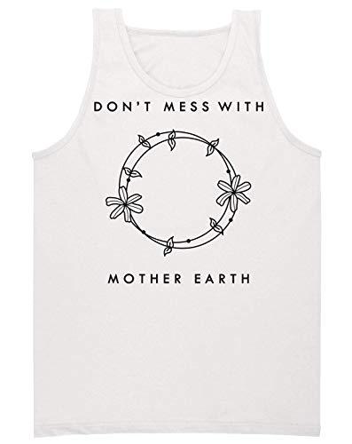 Ne Débardeur Pas Homme Plaisante Blanc Avec Earth Mother rqXrvxO