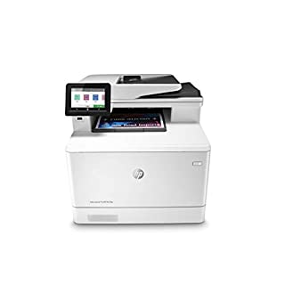 HP Color LaserJet Pro Multifunction M479fdn Laser Printer with One-Year, Next-Business Day, Onsite Warranty & Amazon Dash Replenishment ready (W1A79A) – Built-in Ethernet