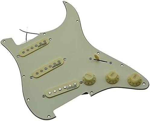 Kaish - Golpeador de guitarra eléctrica con pastillas Wilkinson para Fender Strat fabricado en Estados Unidos o México: Amazon.es: Instrumentos musicales