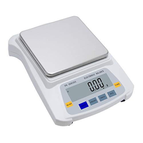 - WZ Digital Scale Jewelry Scales 5kg 0.01g High Precision Analytical Counting LCD Backlit Laboratory Multifunctional Scales Electronic (Capacity : 5kg/0.01g)