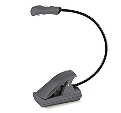 Light It! By Fulcrum 20010-301, Clip On LED Book Light, 12 Inch, Silver Fulcrum Products Inc.